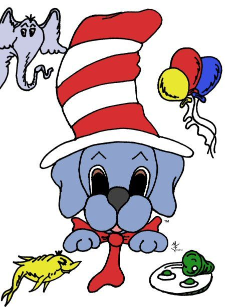 """Cat in the Hat"" - Thanks Dr. Suess!"