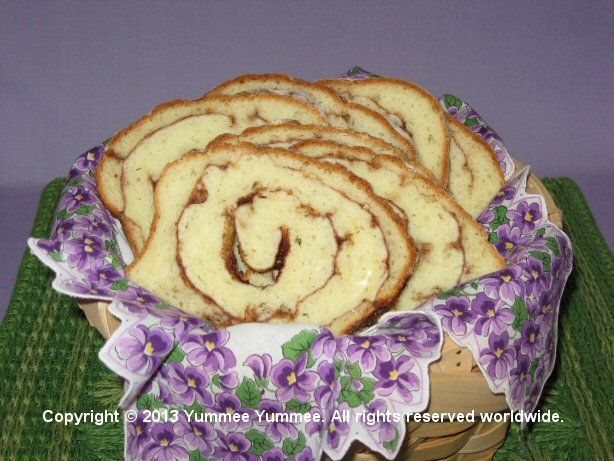 Spirals of cinnamon and sugar are a decadent surprise in this gourmet yeast bread.