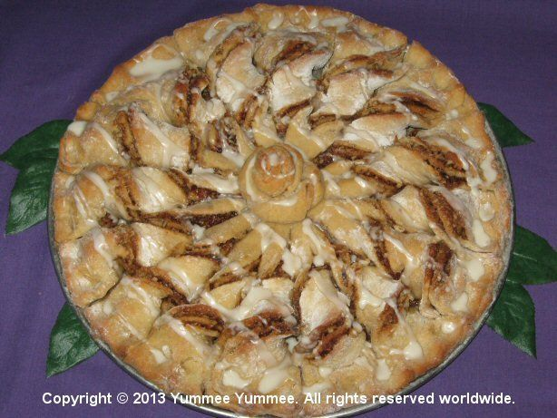 Maple Pecan Twist Coffee Cake with Breads mix.