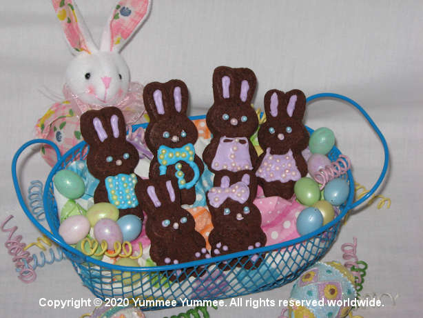 These bunnies will disappear as fast as you can decorate them