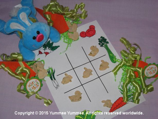 It's food fun! Play tic-tac-toe with our Dreamees Vegetable Crackers.